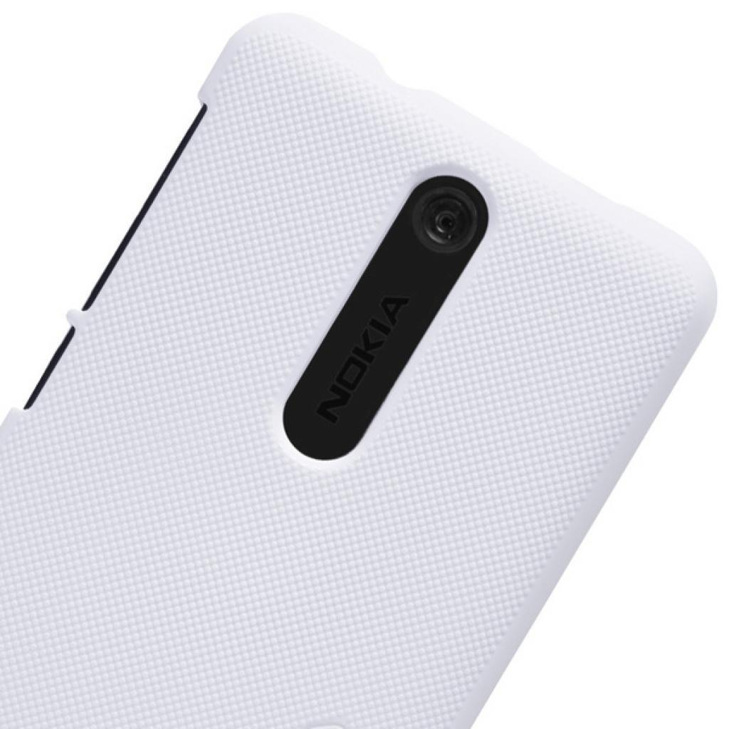 Чехол для моб. телефона NILLKIN для Nokia 501 /Super Frosted Shield/White (6077017) изображение 5