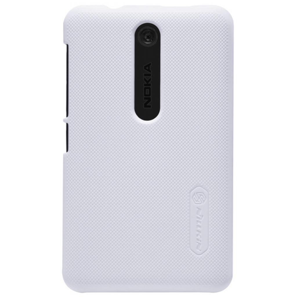 Чехол для моб. телефона NILLKIN для Nokia 501 /Super Frosted Shield/White (6077017)