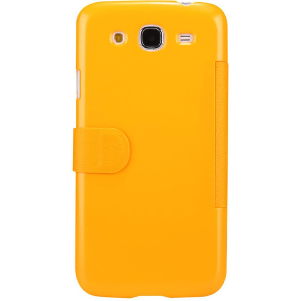 Чехол для моб. телефона NILLKIN для Samsung I9152 /Fresh/ Leather/Yellow (6076971) изображение 2