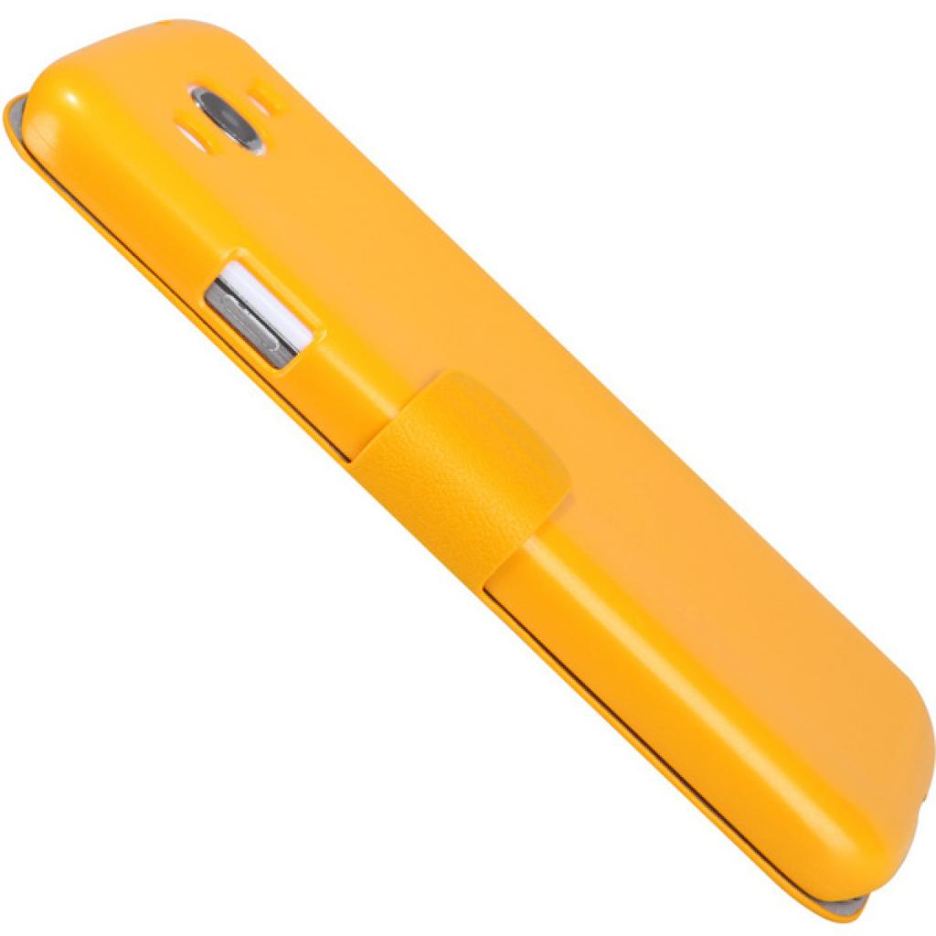 Чехол для моб. телефона NILLKIN для Samsung I9152 /Fresh/ Leather/Yellow (6076971) изображение 4