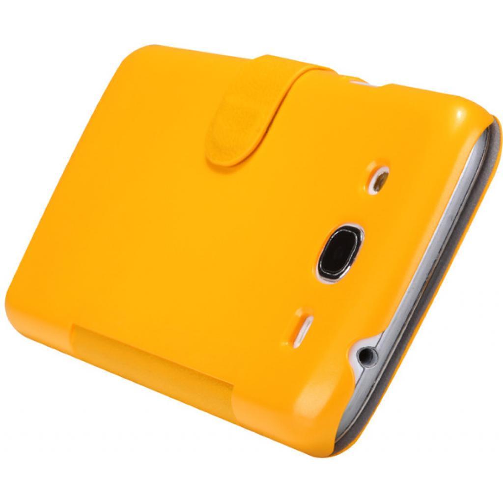 Чехол для моб. телефона NILLKIN для Samsung I9152 /Fresh/ Leather/Yellow (6076971) изображение 5