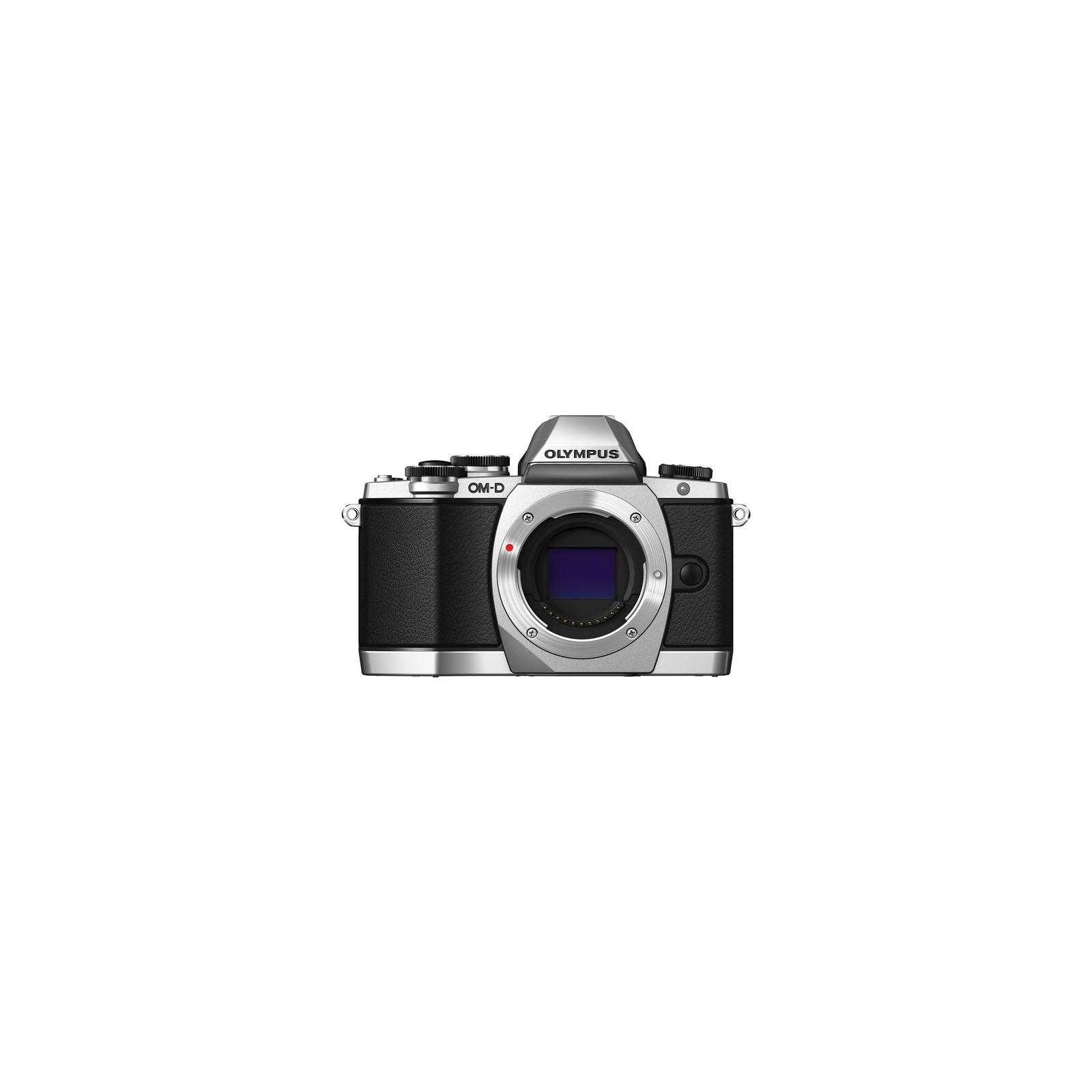 Цифровой фотоаппарат OLYMPUS E-M10 14-42 Kit silver/black (V207021SE000) изображение 2
