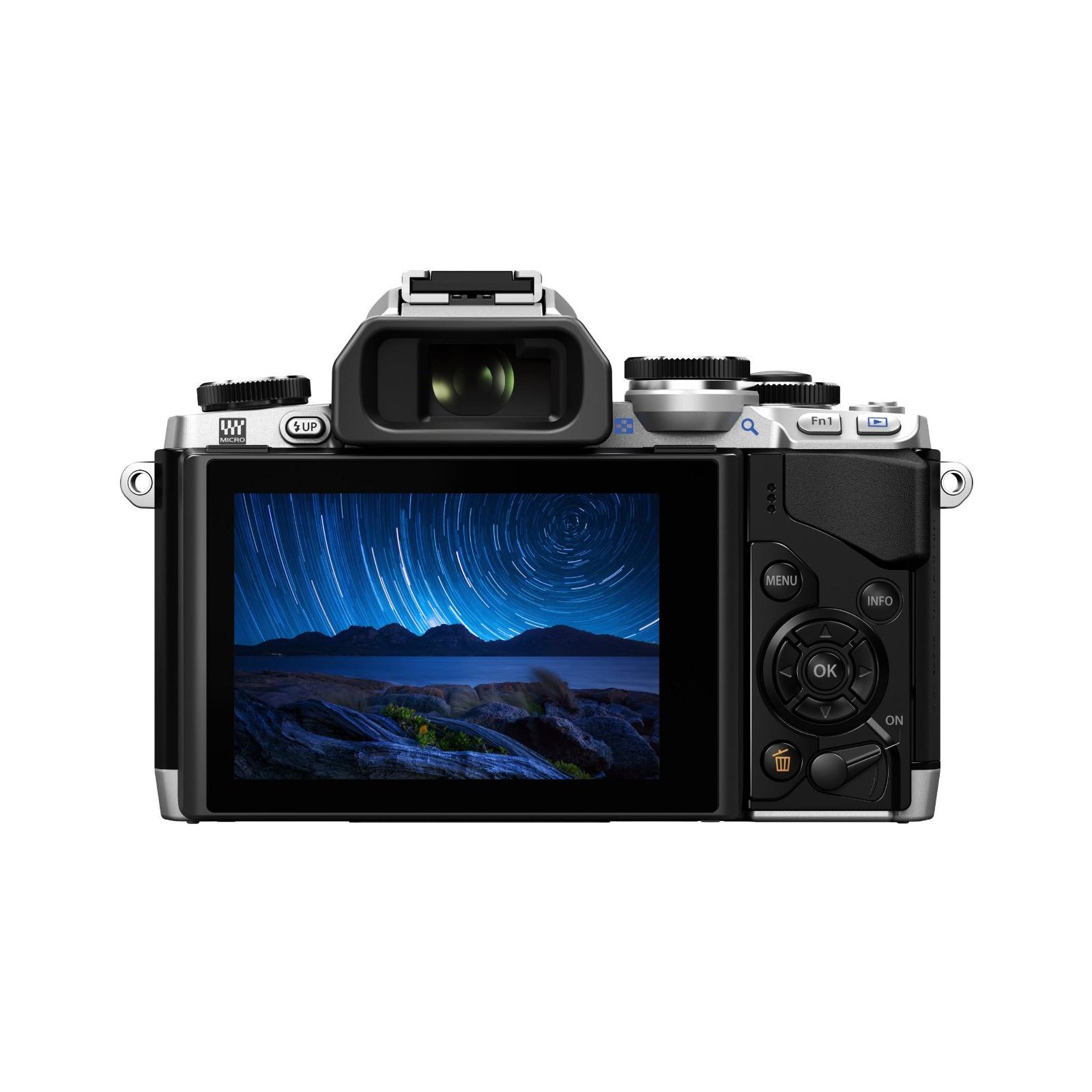 Цифровой фотоаппарат OLYMPUS E-M10 14-42 Kit silver/black (V207021SE000) изображение 3