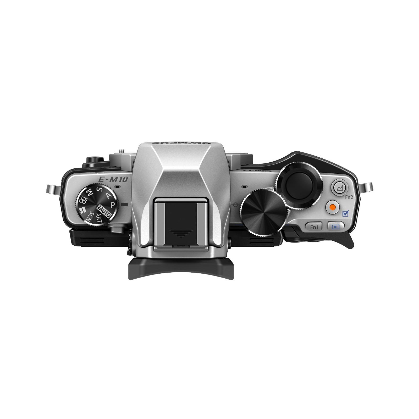 Цифровой фотоаппарат OLYMPUS E-M10 14-42 Kit silver/black (V207021SE000) изображение 4
