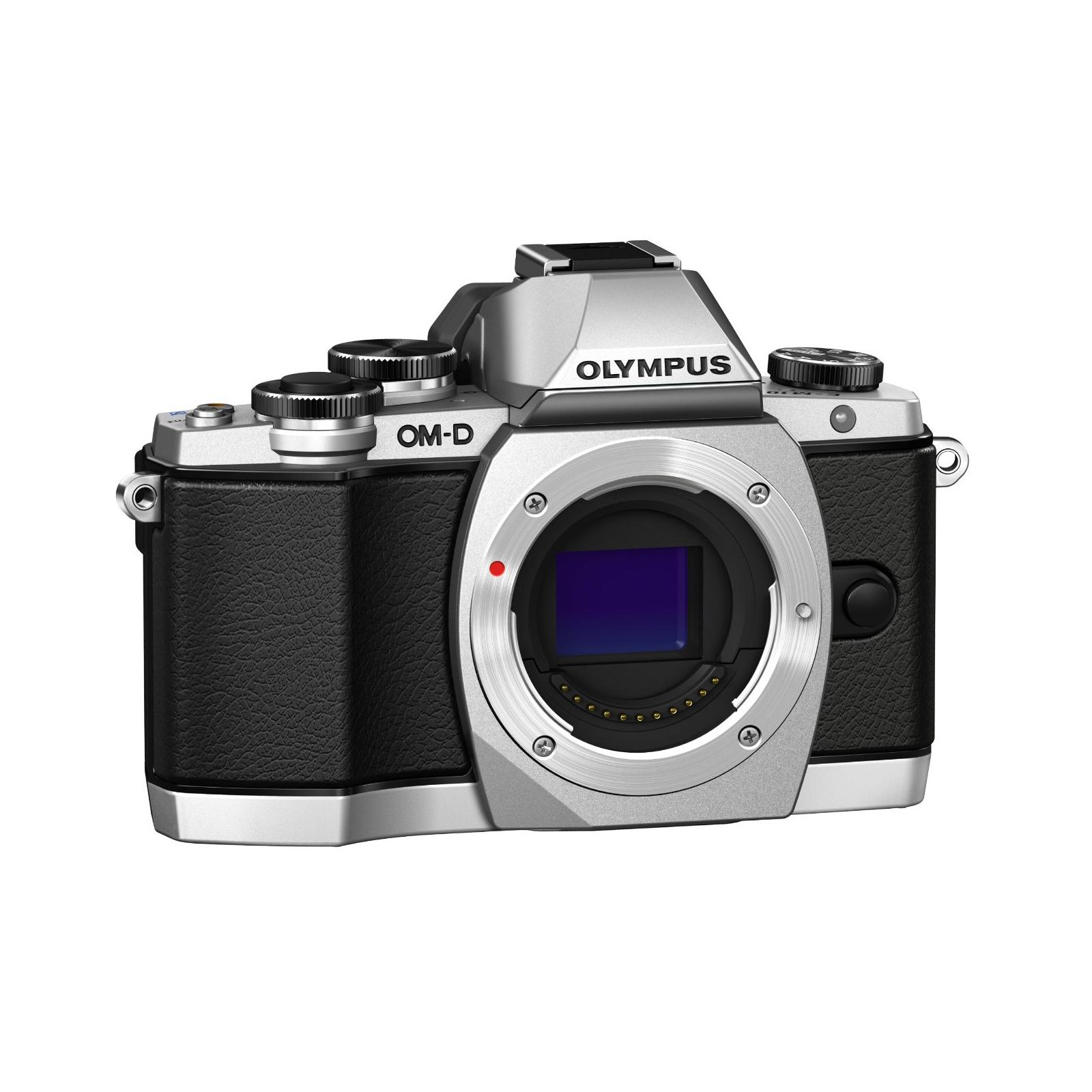Цифровой фотоаппарат OLYMPUS E-M10 14-42 Kit silver/black (V207021SE000) изображение 5
