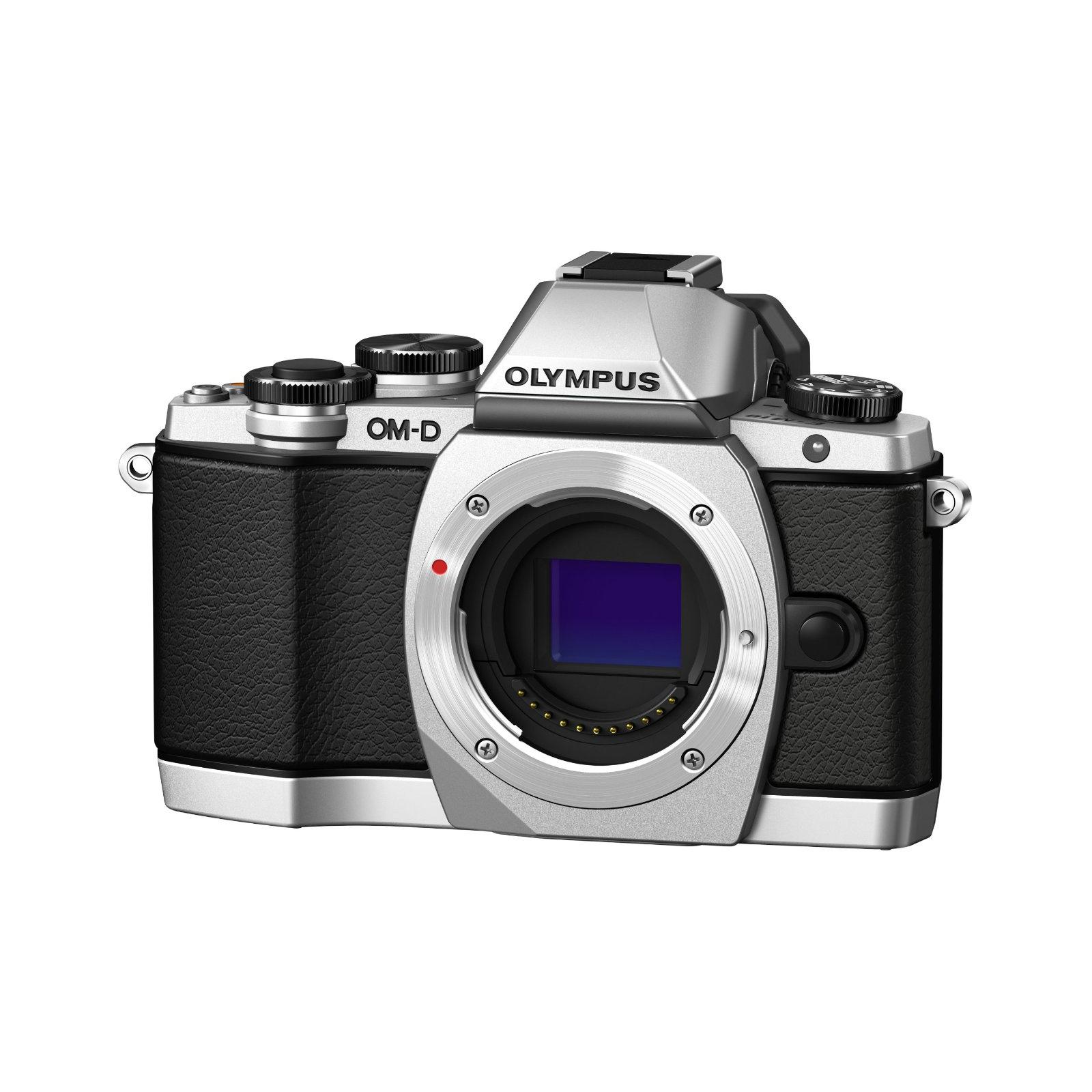 Цифровой фотоаппарат OLYMPUS E-M10 14-42 Kit silver/black (V207021SE000)