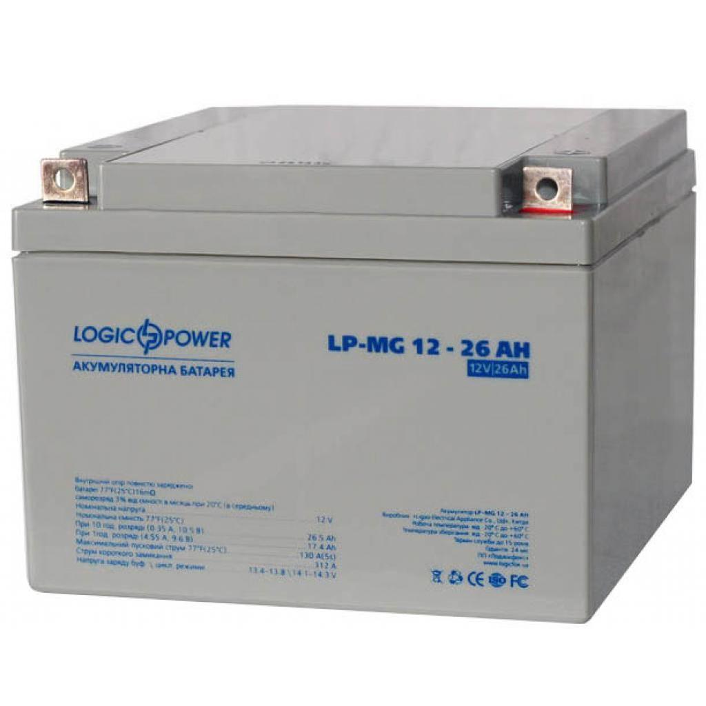 Батарея к ИБП LogicPower MG 12В 26Ач (2675) изображение 3