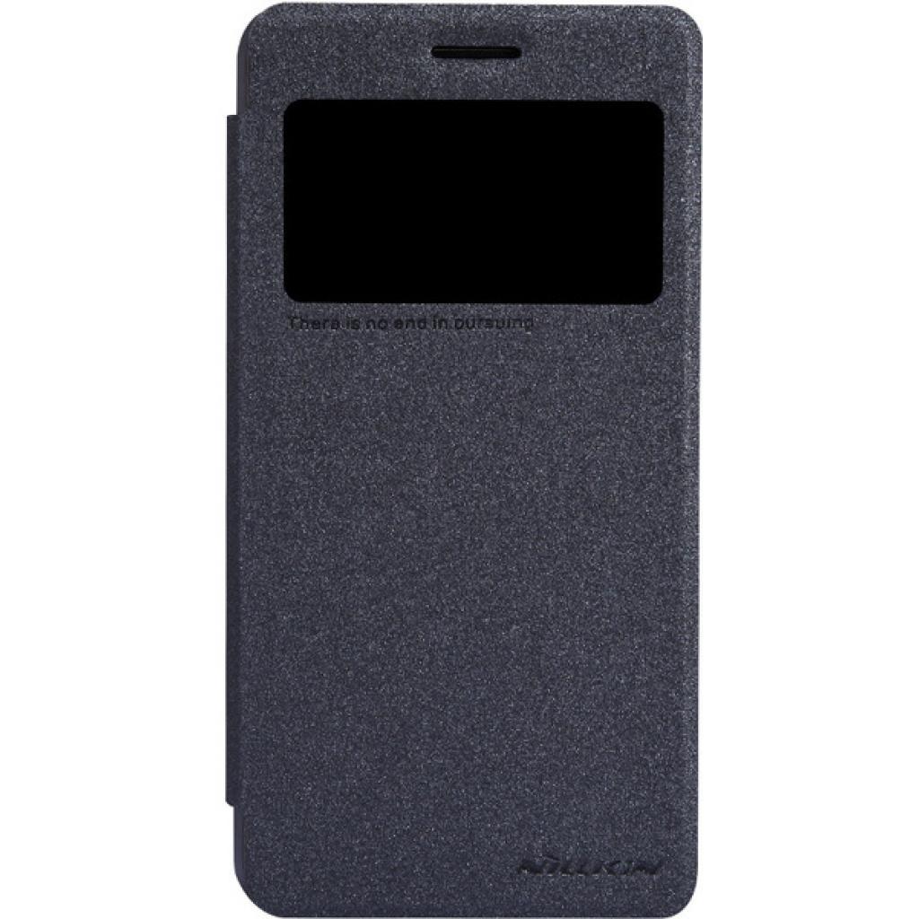 Чехол для моб. телефона NILLKIN для Lenovo S660 /Spark/ Leather/Black (6164334)