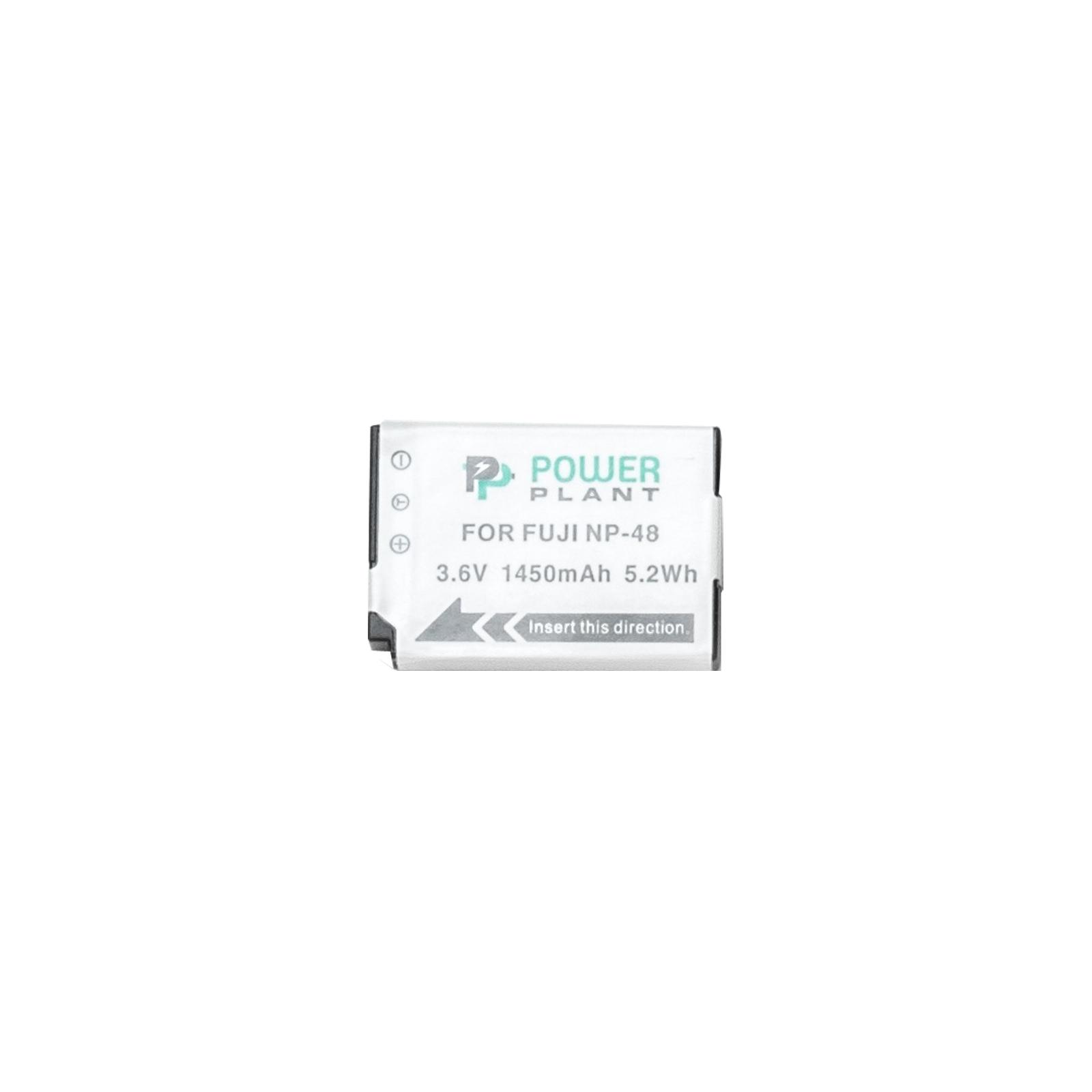 Аккумулятор к фото/видео PowerPlant Fuji NP-48 (DV00DV1395)