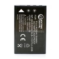 Аккумулятор к фото/видео EXTRADIGITAL Casio NP-30, KLIC-5000, LI-20B, D-L12, NP-60 (DV00DV1043)