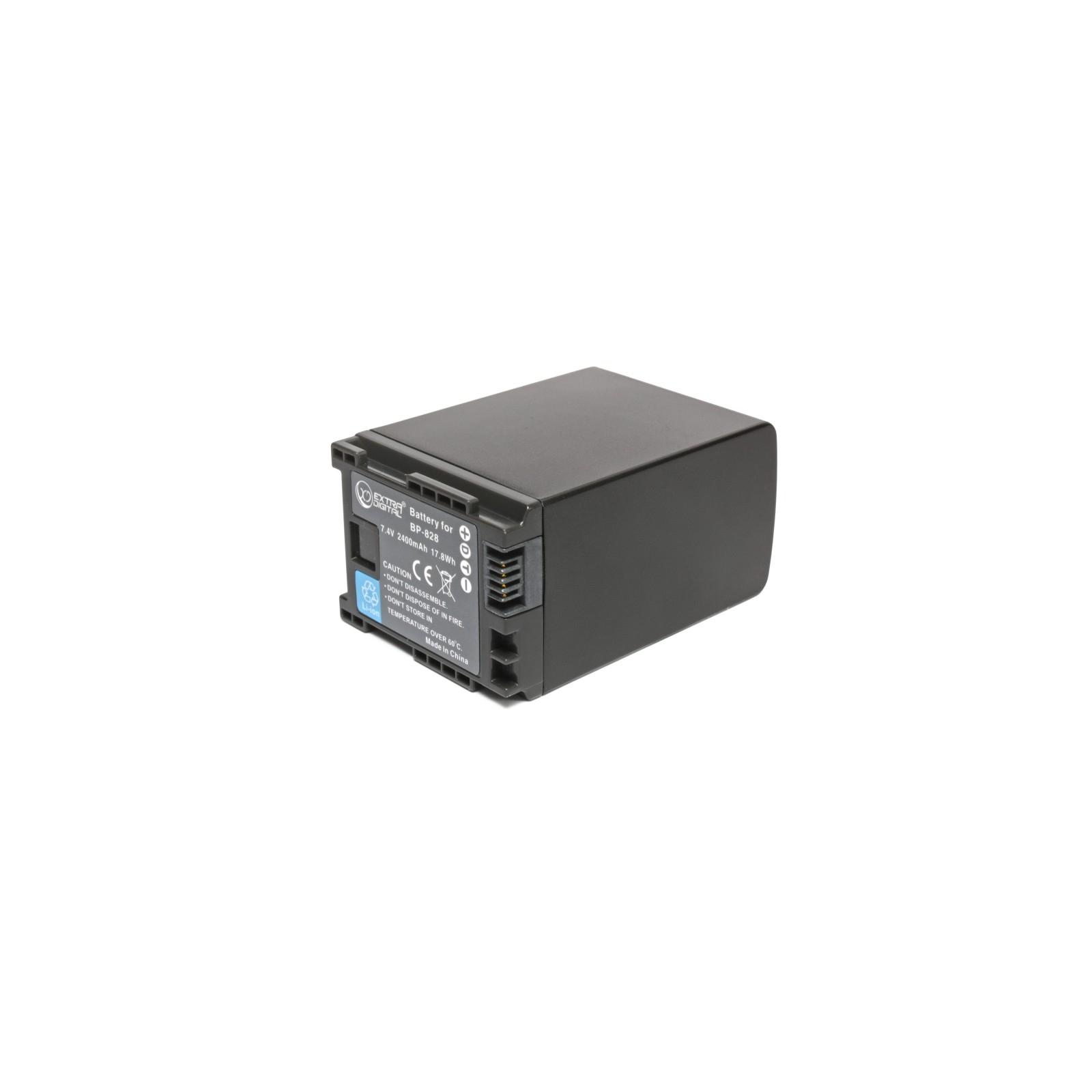 Аккумулятор к фото/видео EXTRADIGITAL Canon BP-828 (BDC2419) изображение 2