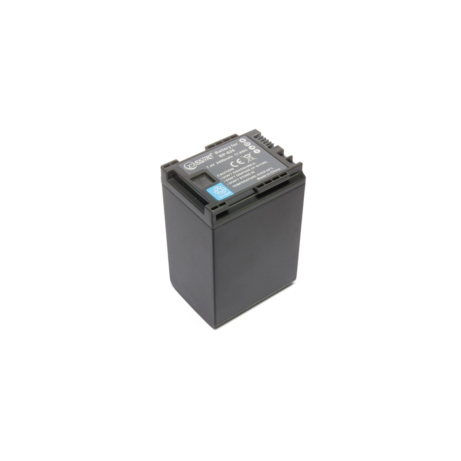 Аккумулятор к фото/видео EXTRADIGITAL Canon BP-828 (BDC2419) изображение 4