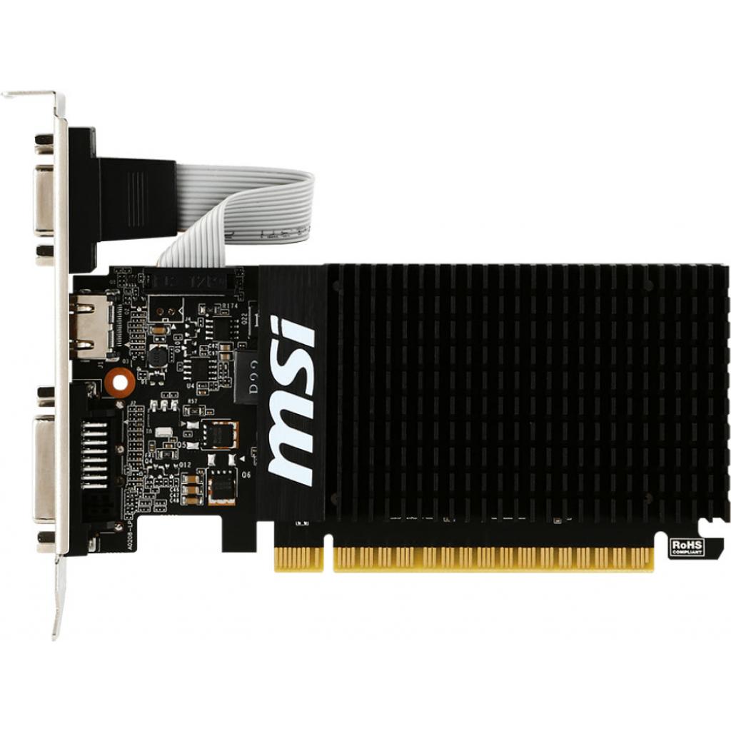 Видеокарта GeForce GT710 1024Mb MSI (GT 710 1GD3H LP) изображение 2