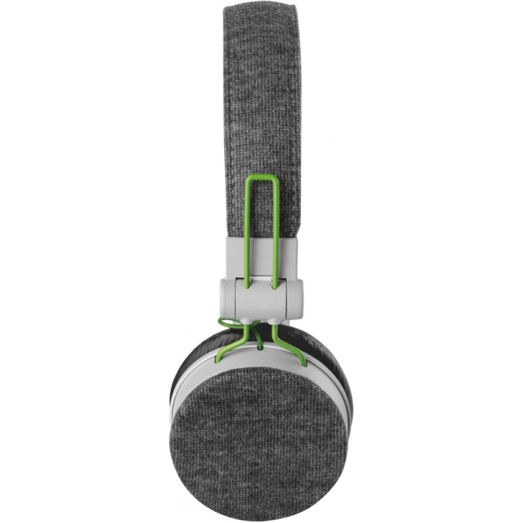 Наушники Trust Urban Revolt Fyber headphone grey/green (20080) изображение 3