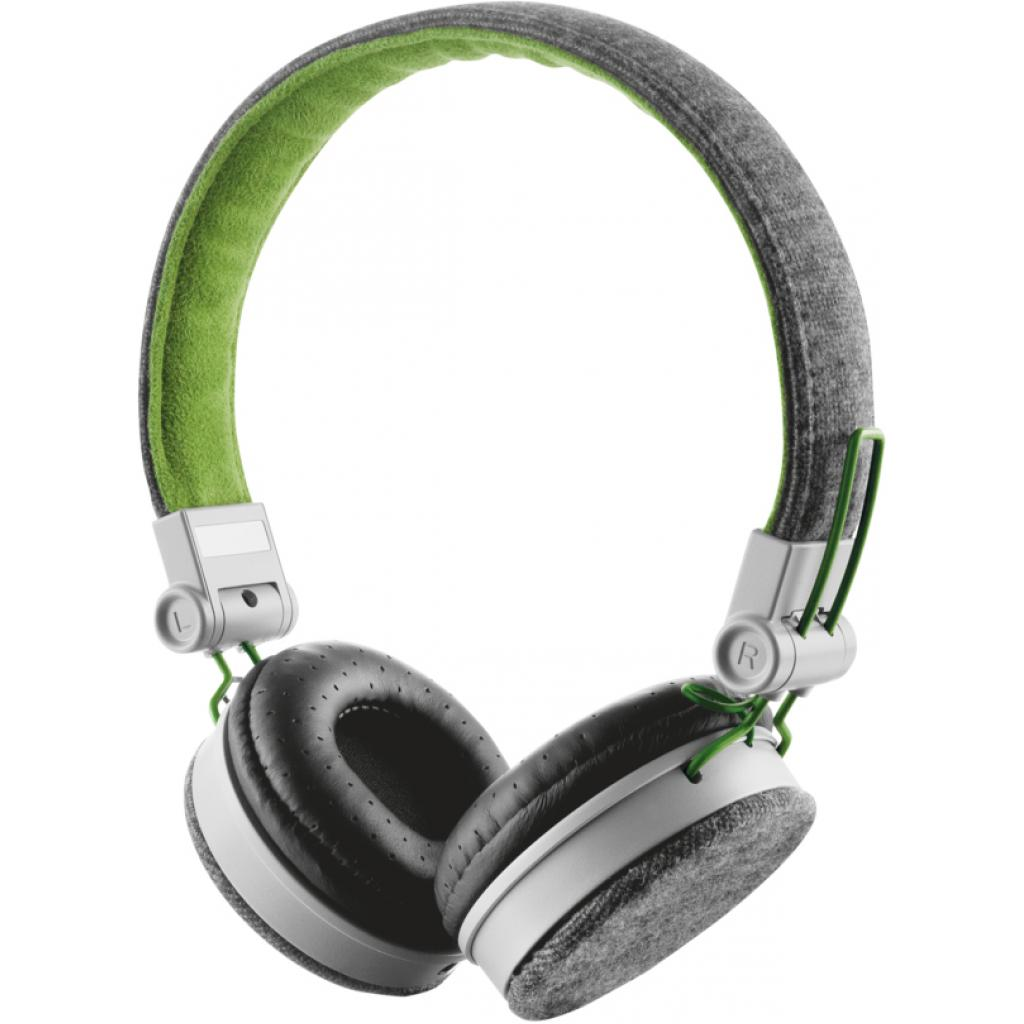 Наушники Trust Urban Revolt Fyber headphone grey/green (20080)