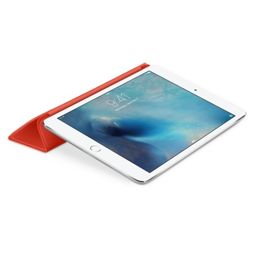 Чехол для планшета Apple Smart Cover для iPad mini 4 Orange (MKM22ZM/A) изображение 4