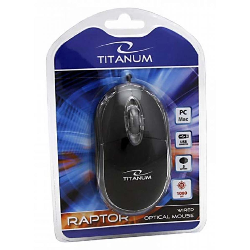 Мышка Esperanza Titanum TM102K Black изображение 4
