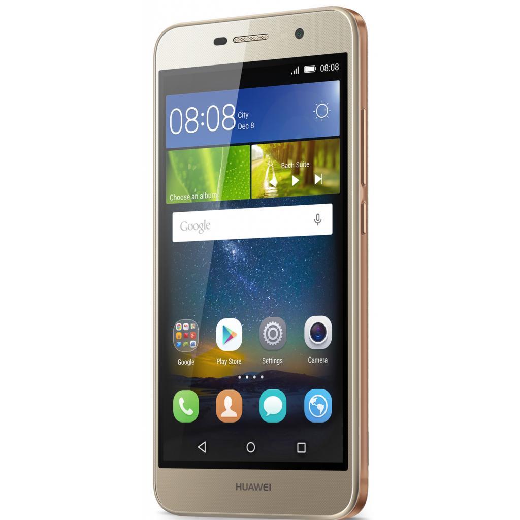 Мобильный телефон Huawei Y6 Pro Gold изображение 5