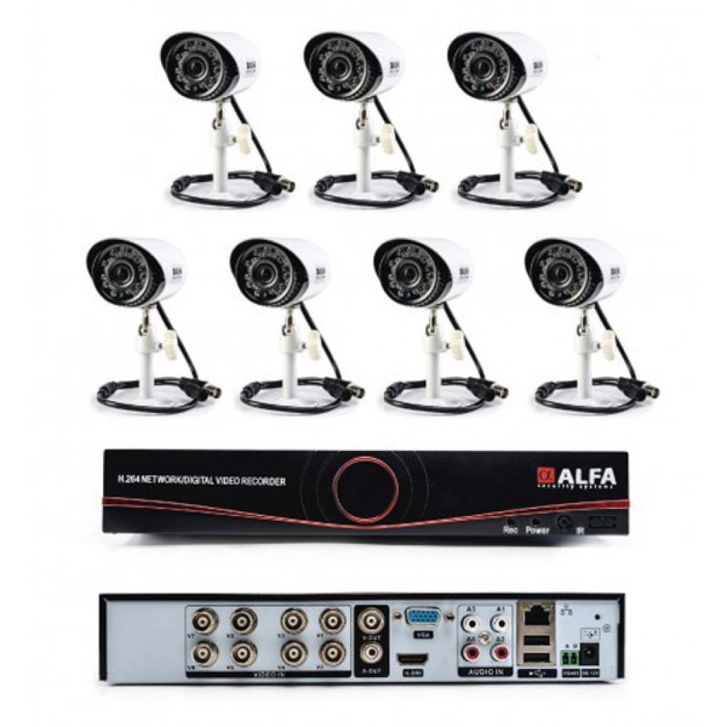 Комплект видеонаблюдения ALFA Outdoors 7
