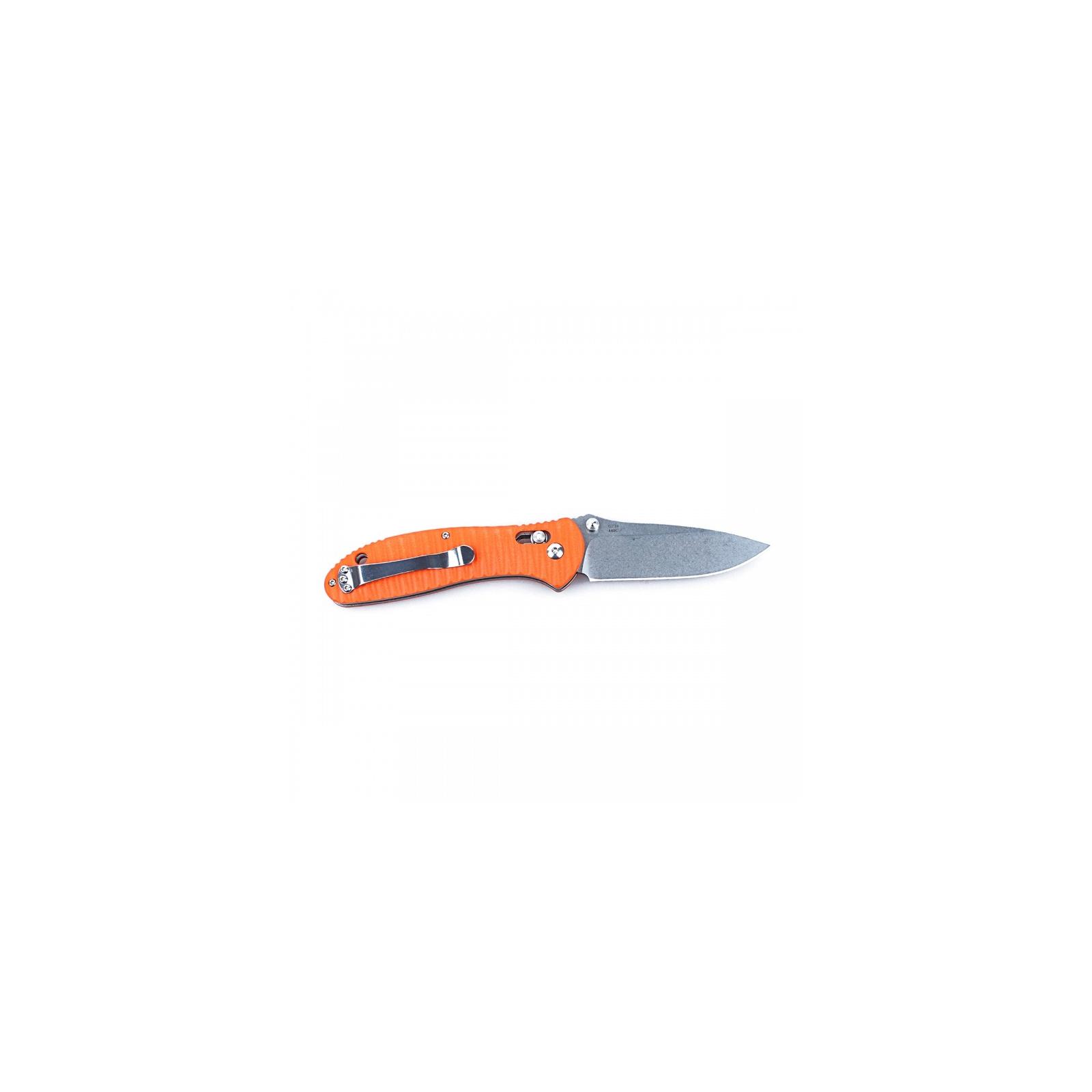 Нож Ganzo G7392P оранжевый (G7392P-OR) изображение 2