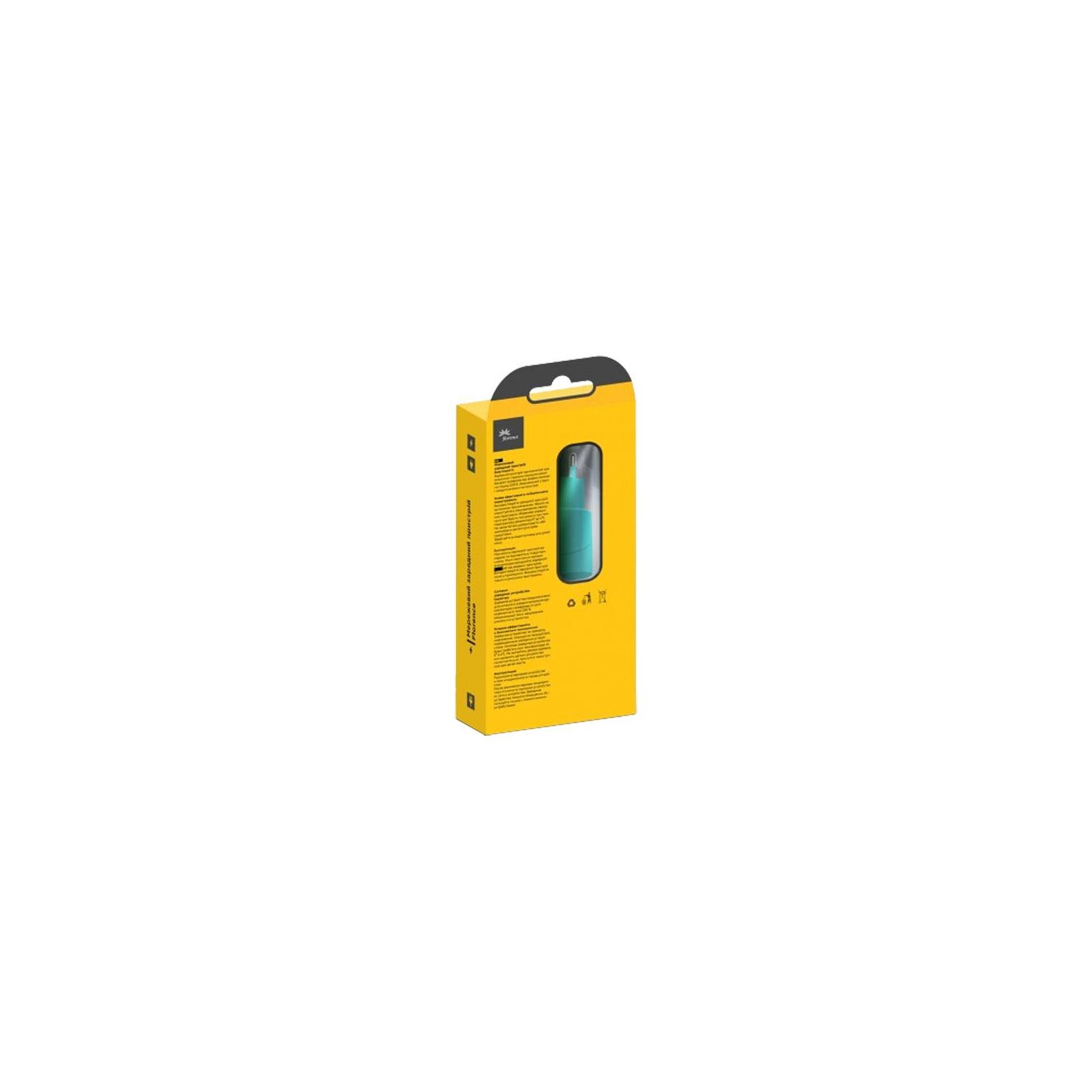 Зарядное устройство Florence USB, 1.0A aquamarin color (FW-1U010A) изображение 3