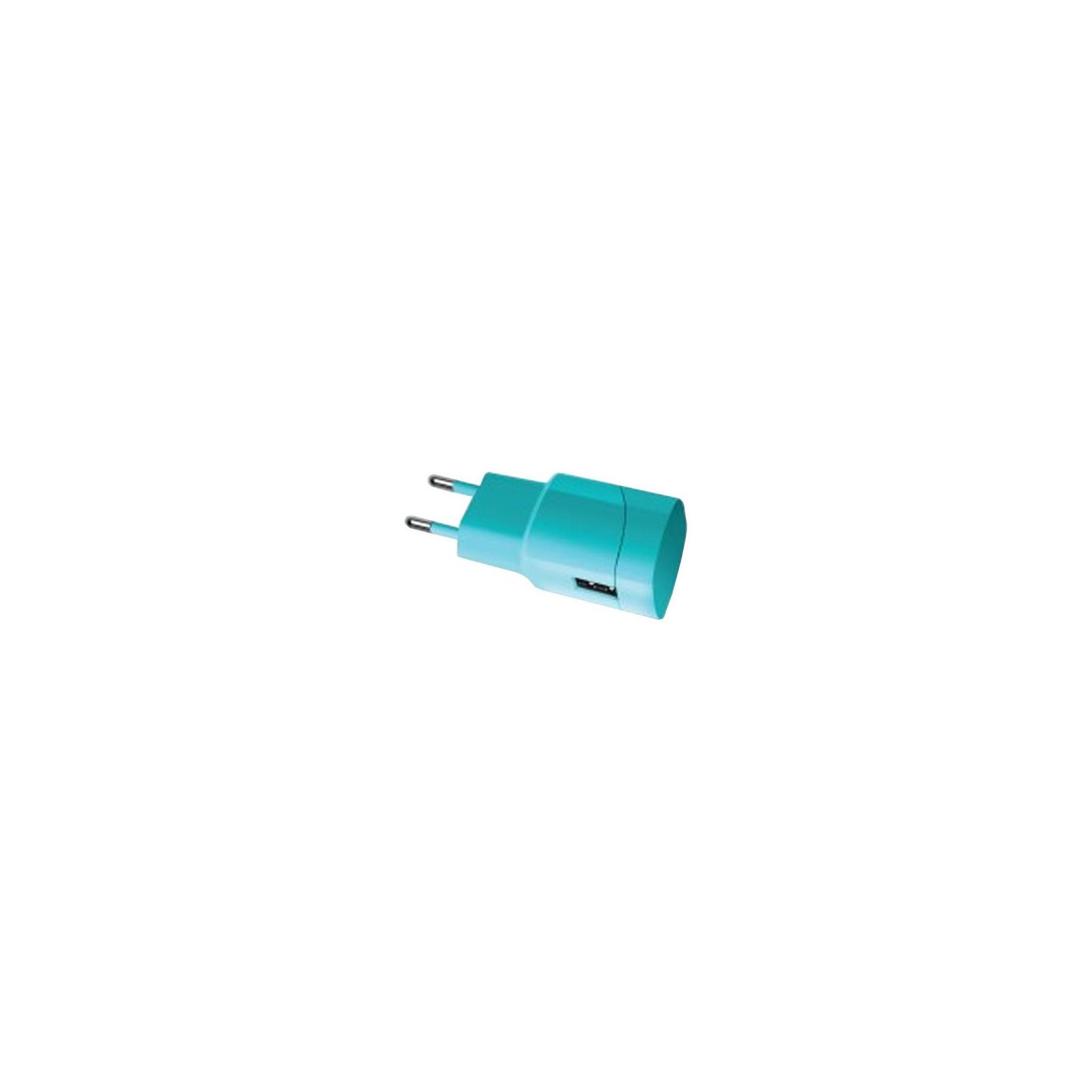 Зарядное устройство Florence USB, 1.0A aquamarin color (FW-1U010A)