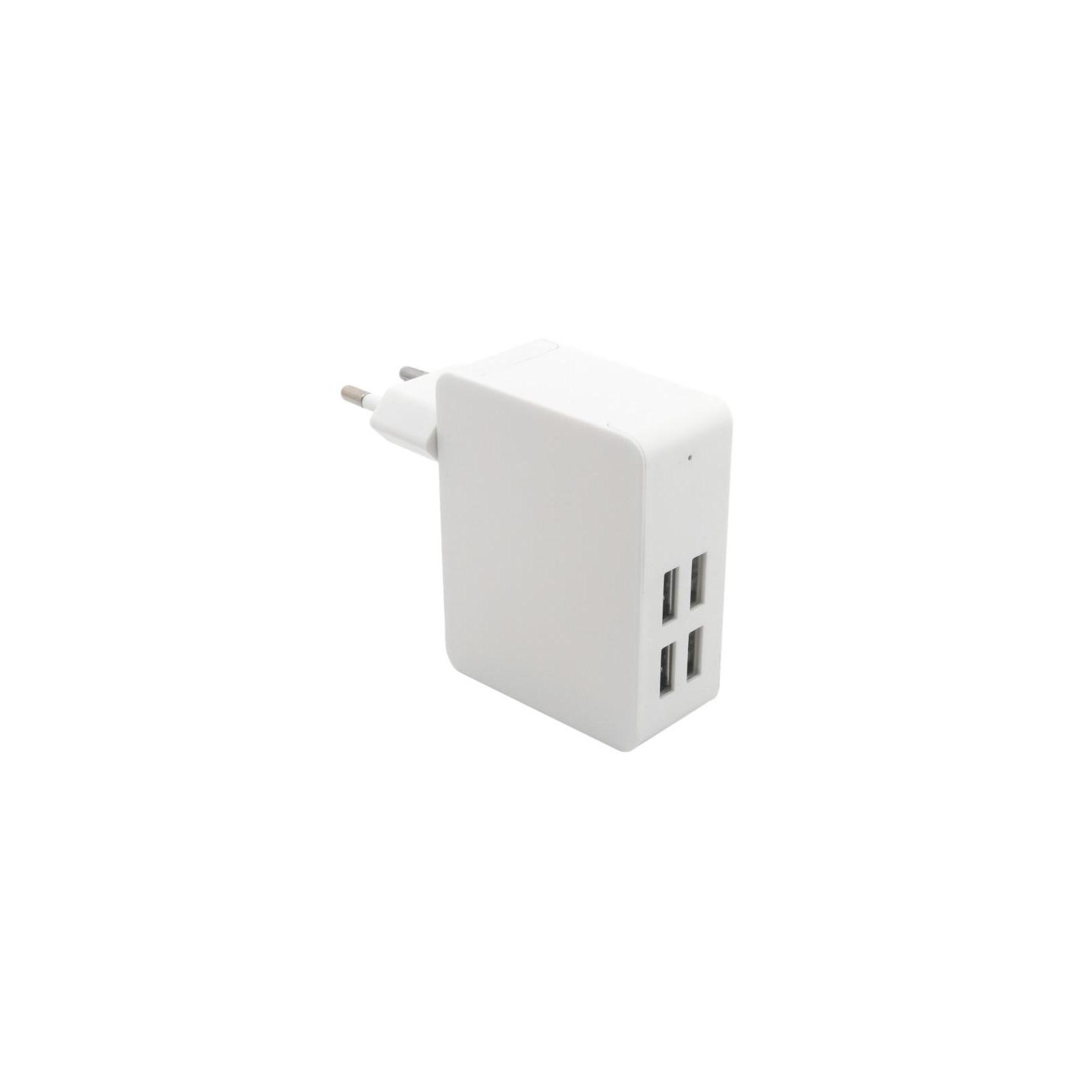 Зарядное устройство Extradigital IQ Charger ED-4U20IC 4*USB, 4A (CUE1527) изображение 2