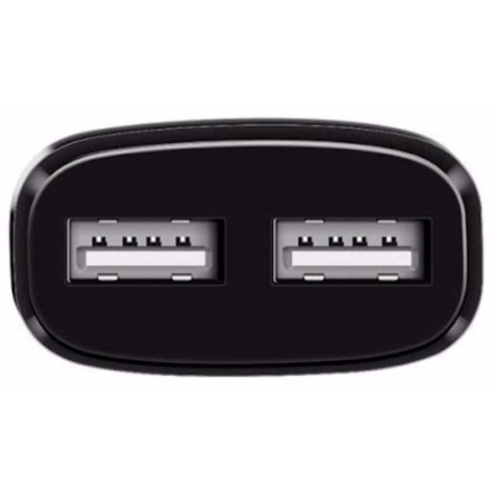 Зарядное устройство HOCO C12 2*USB, 2.4A, Black (65596) изображение 4