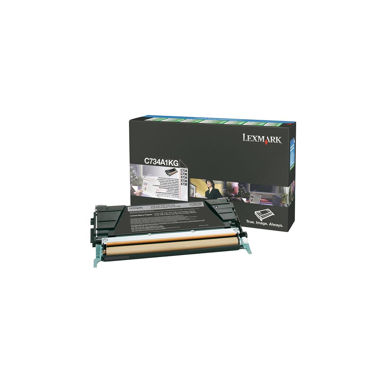 Картридж LEXMARK C746/748 Black 12k (C746H3KG)