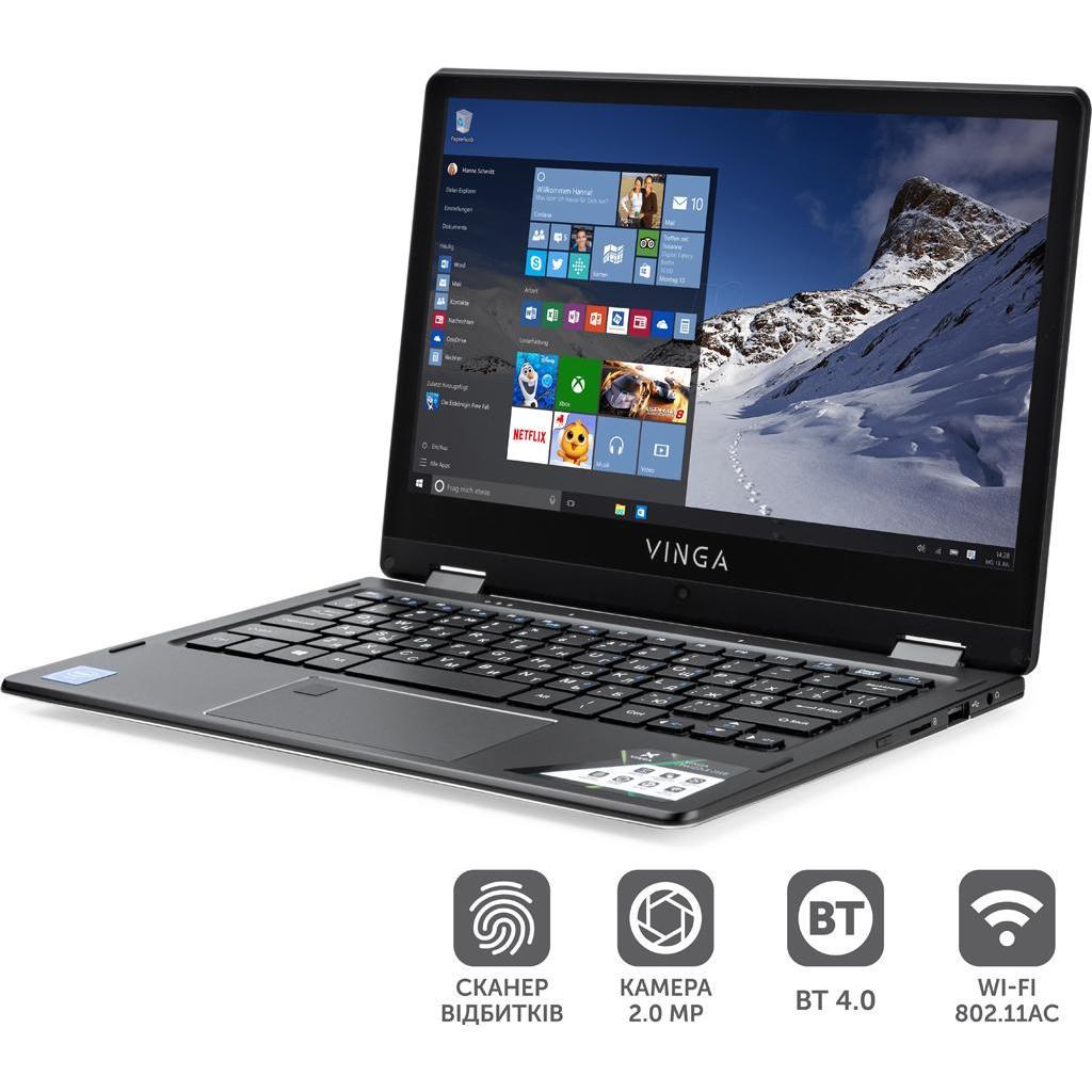 Ноутбук Vinga Twizzle J116 (J116-C40464B) изображение 4