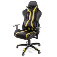 Кресло игровое АКЛАС Стрик PL RL Желтое (06149)