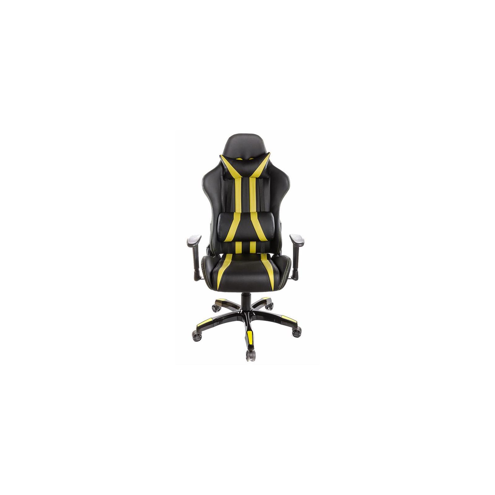 Кресло игровое АКЛАС Стрик PL RL Желтое (06149) изображение 2