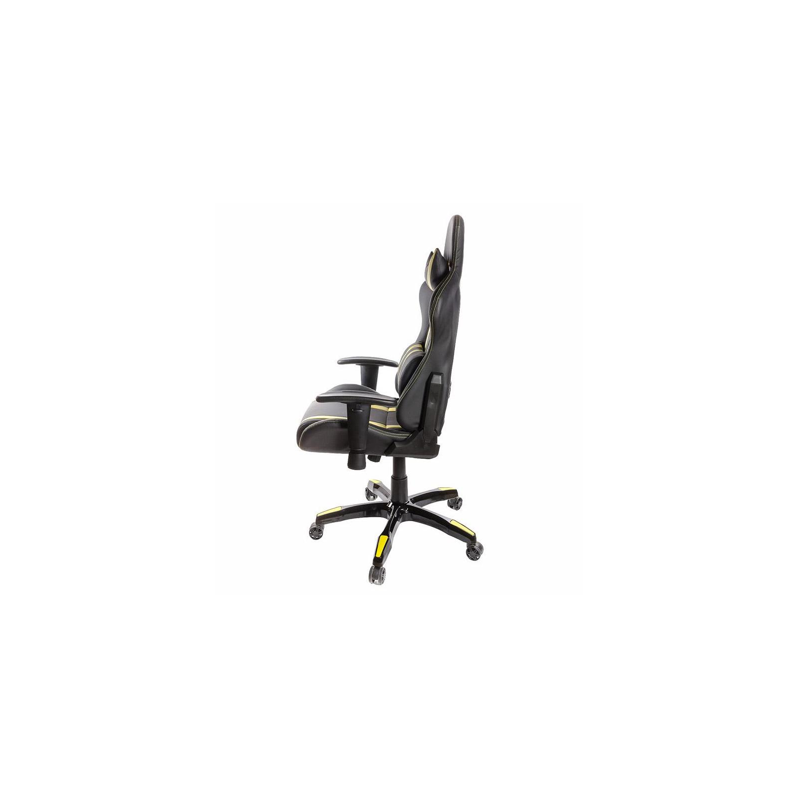Кресло игровое АКЛАС Стрик PL RL Желтое (06149) изображение 3