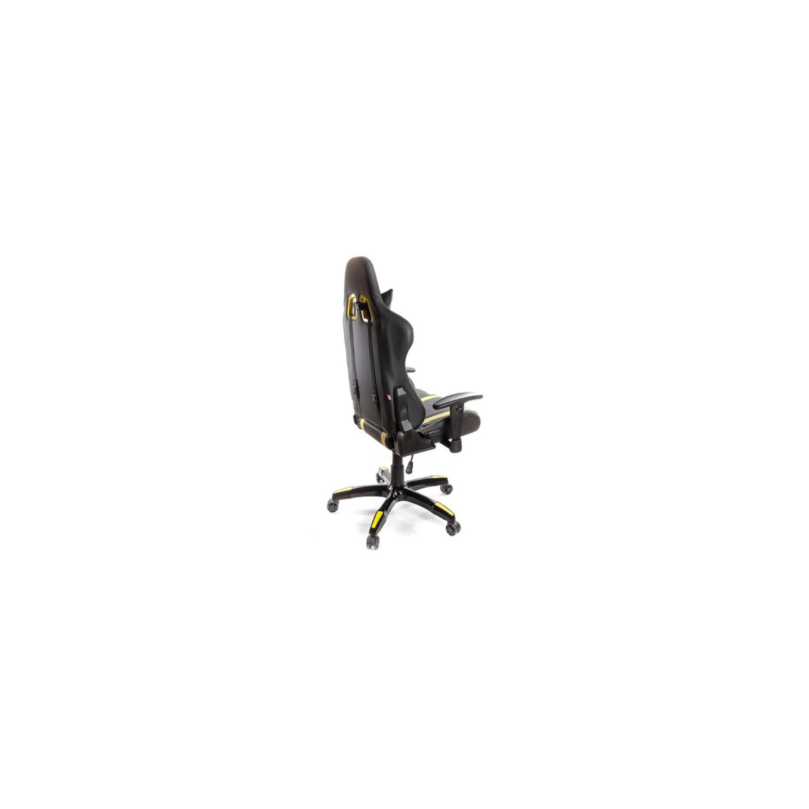 Кресло игровое АКЛАС Стрик PL RL Желтое (06149) изображение 5