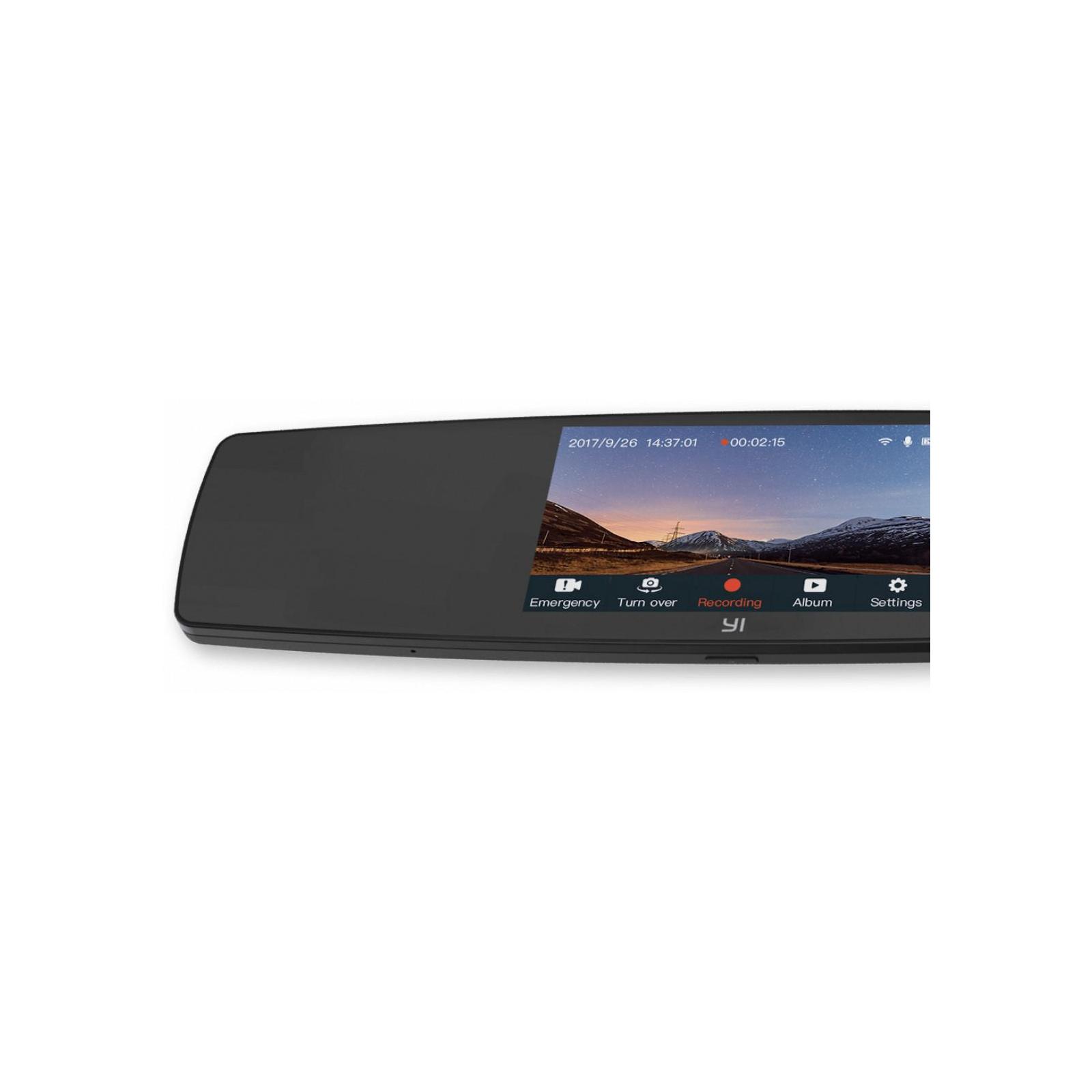 Видеорегистратор Xiaomi YI Mirror Dash Camera Black (YI-89029) изображение 7