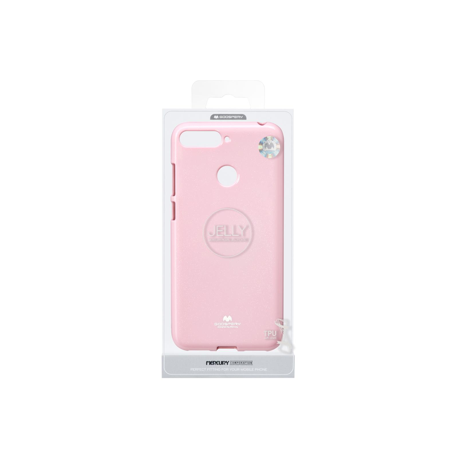 Чохол до моб. телефона Goospery Jelly Case для Huawei Y6 Prime 2018 Pink (8809610540577) зображення 3