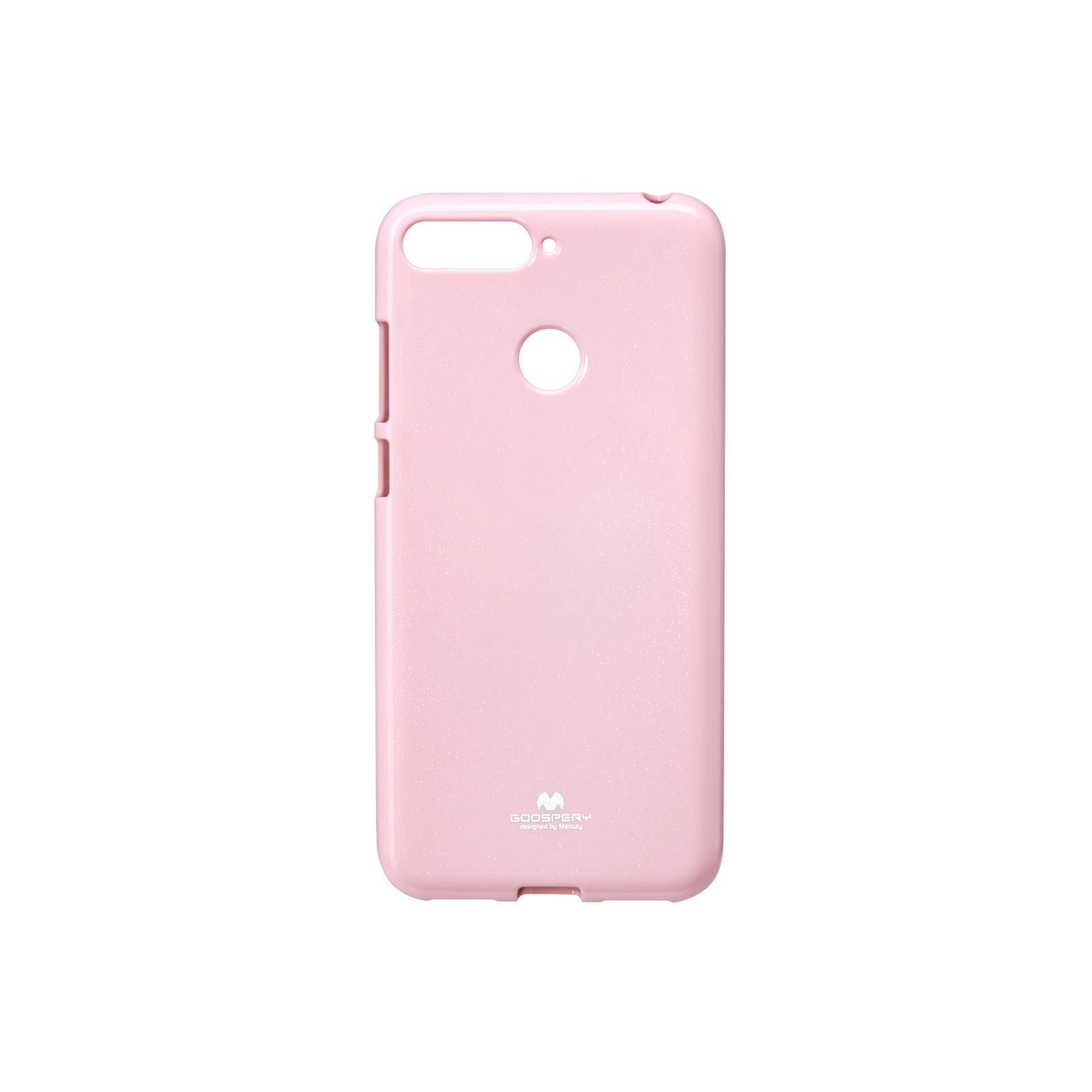 Чохол до моб. телефона Goospery Jelly Case для Huawei Y6 Prime 2018 Pink (8809610540577)