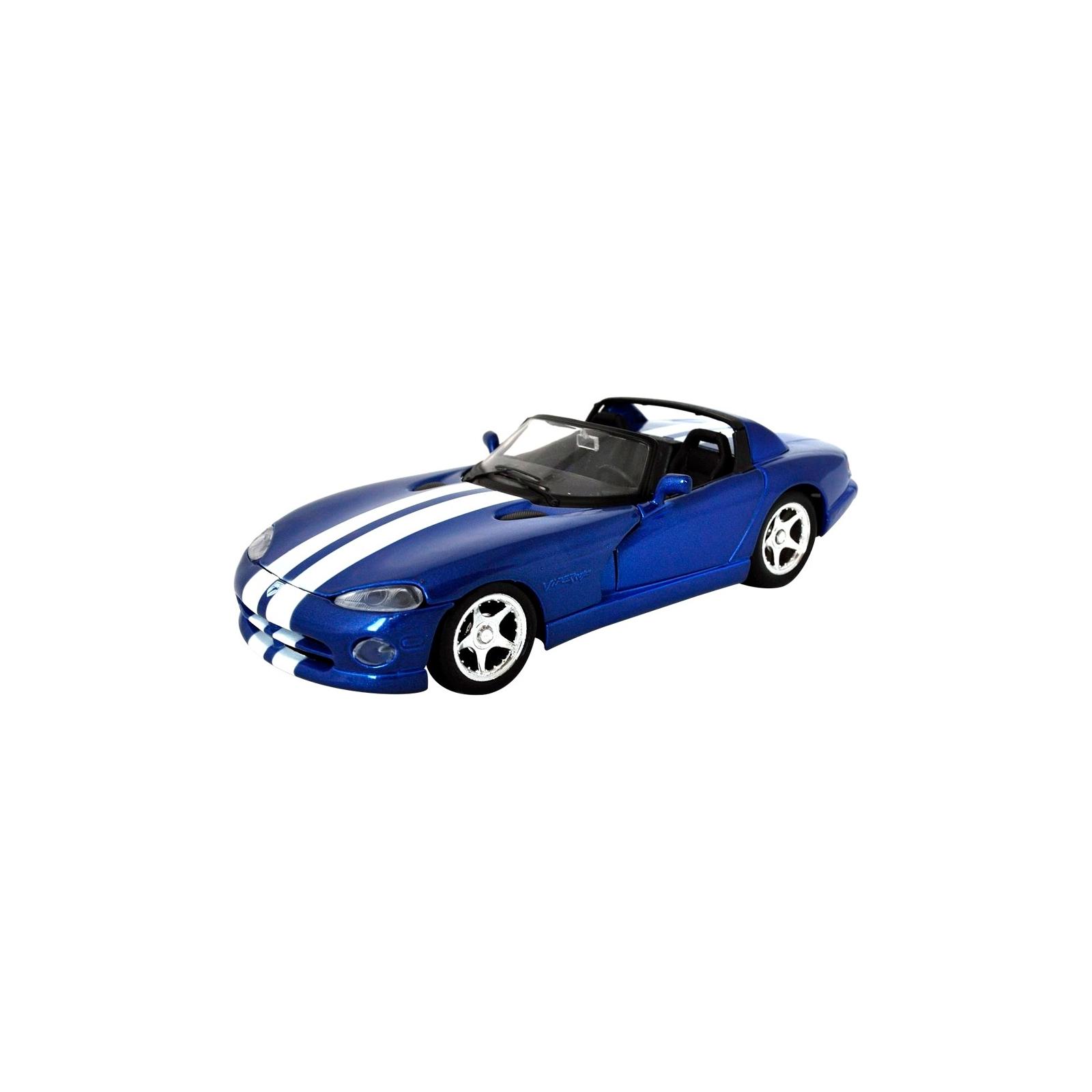Машина Maisto Dodge Viper RT/10 '97 (1:24) синий (31932 blue)