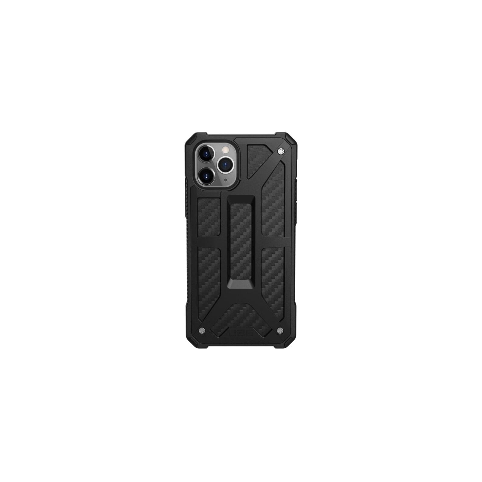 Чехол для моб. телефона Uag iPhone 11 Pro Monarch, Carbon Fiber (111701114242)