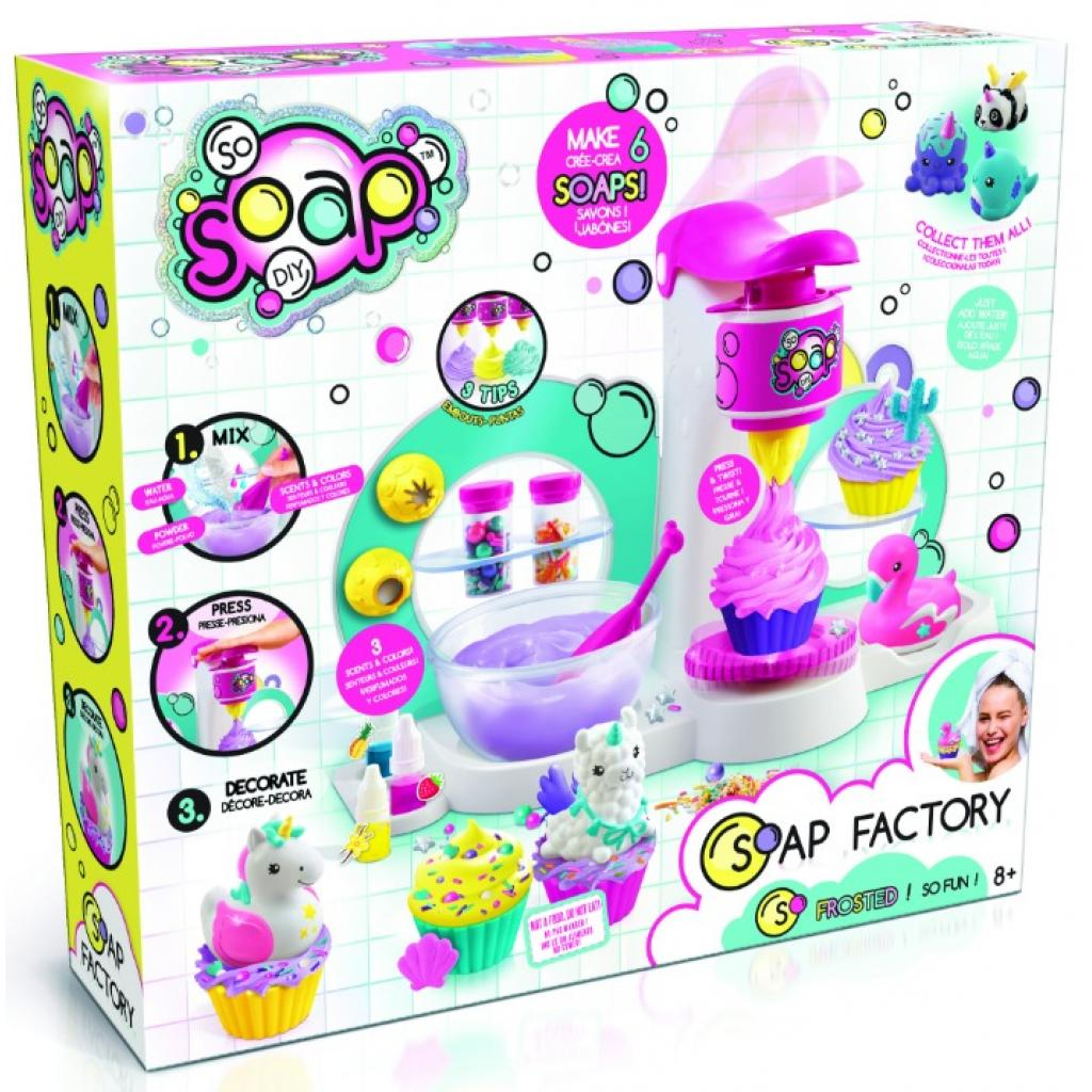 Набор для творчества Canal Toys So Soap Фабрика мыла (SOC003)