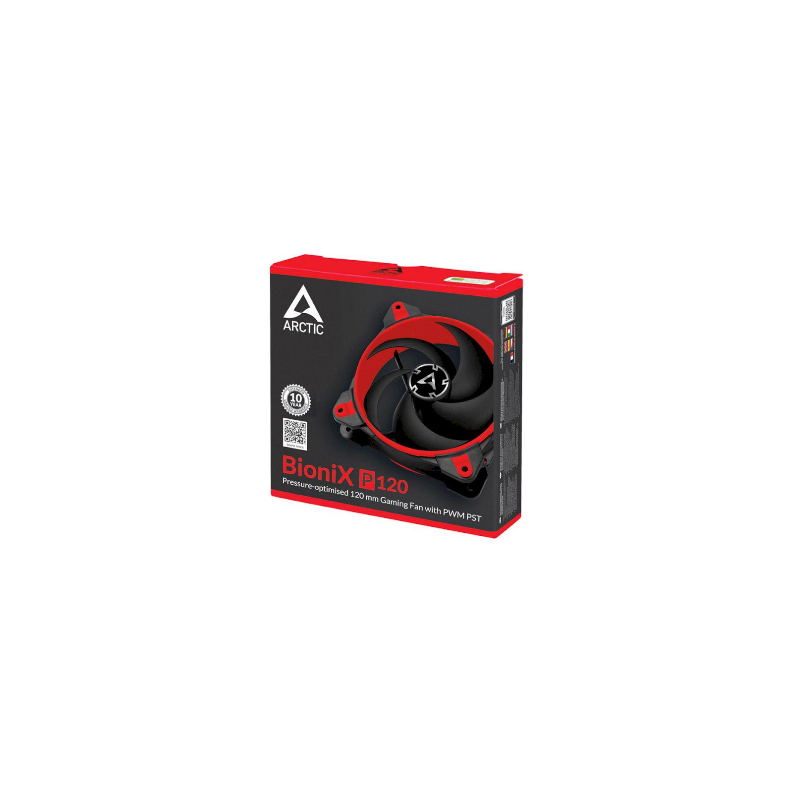 Кулер для корпуса Arctic BioniX P120 White (ACFAN00116A) изображение 4