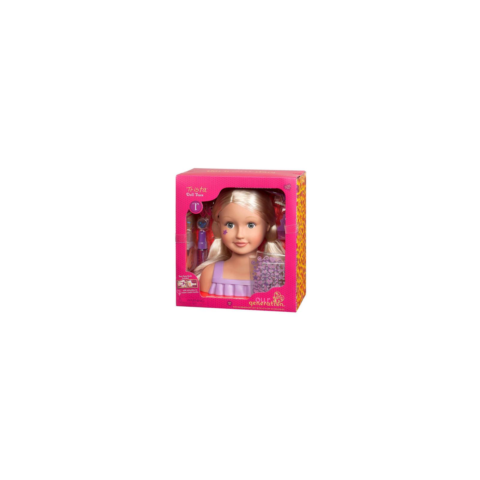 Лялька Our Generation Лялька-манекен Модний перукар (BD37966Z) зображення 5