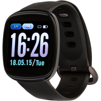 Смарт-часы ATRIX Pro Sport B15 IPS Oximeter Pulse and AD black (swaphb15b)