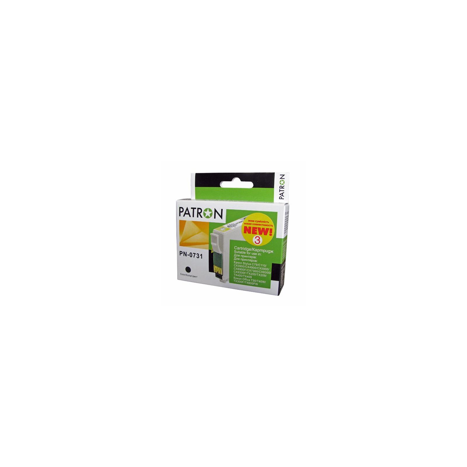 Картридж PATRON для EPSON C79/C110/TX200 black (CI-EPS-T07314-B3-PN/CI-EPS-T07314-B-PN) изображение 2