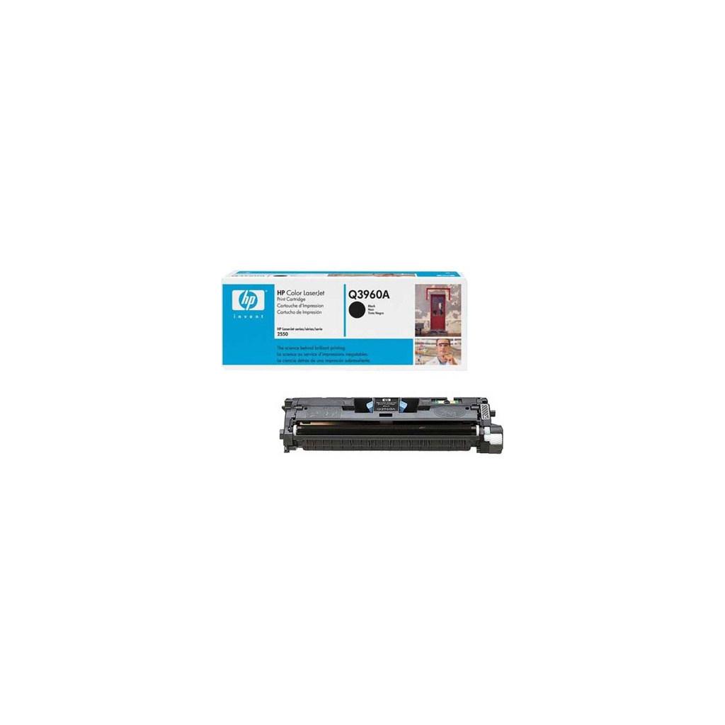 Картридж HP CLJ  122A для 2550 black (Q3960A)