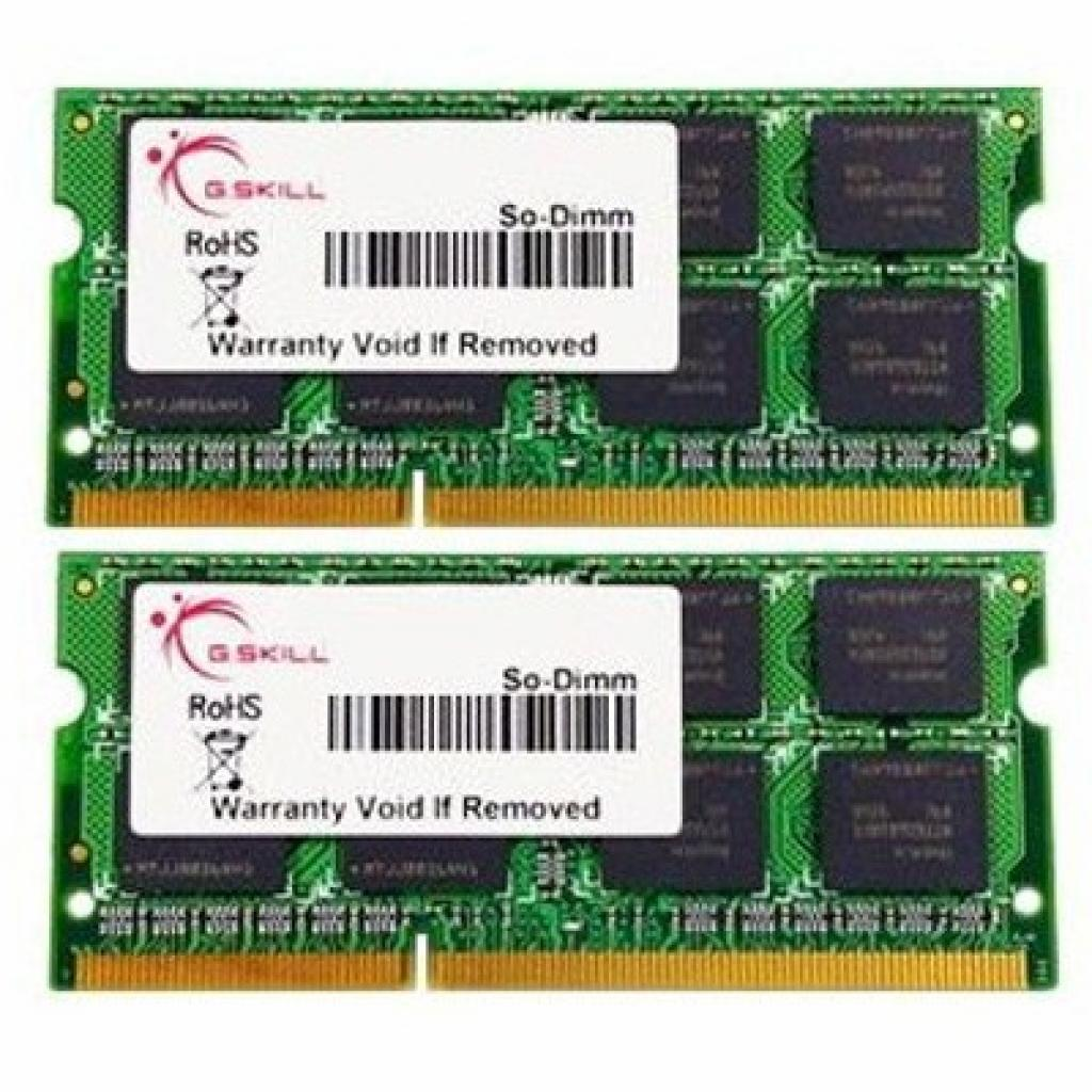 Модуль памяти для ноутбука SoDIMM DDR3 8GB (2x4GB) 1333 MHz G.Skill (F3-10666CL9D-8GBSQ)