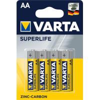 Батарейка Varta AA Superlife Zinc-Carbon * 4 (02006101414)