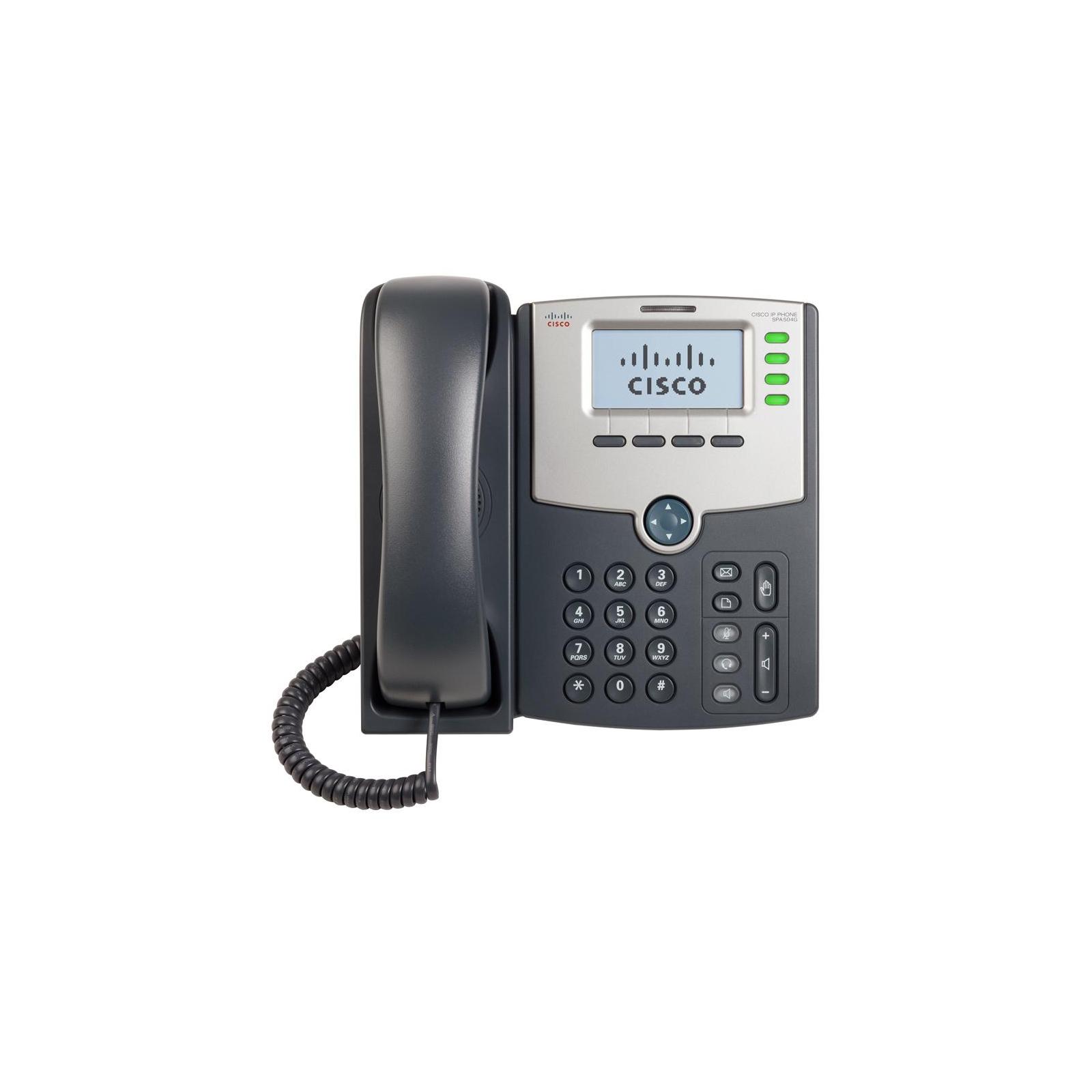 IP телефон Cisco SPA504 (SPA504G) изображение 2
