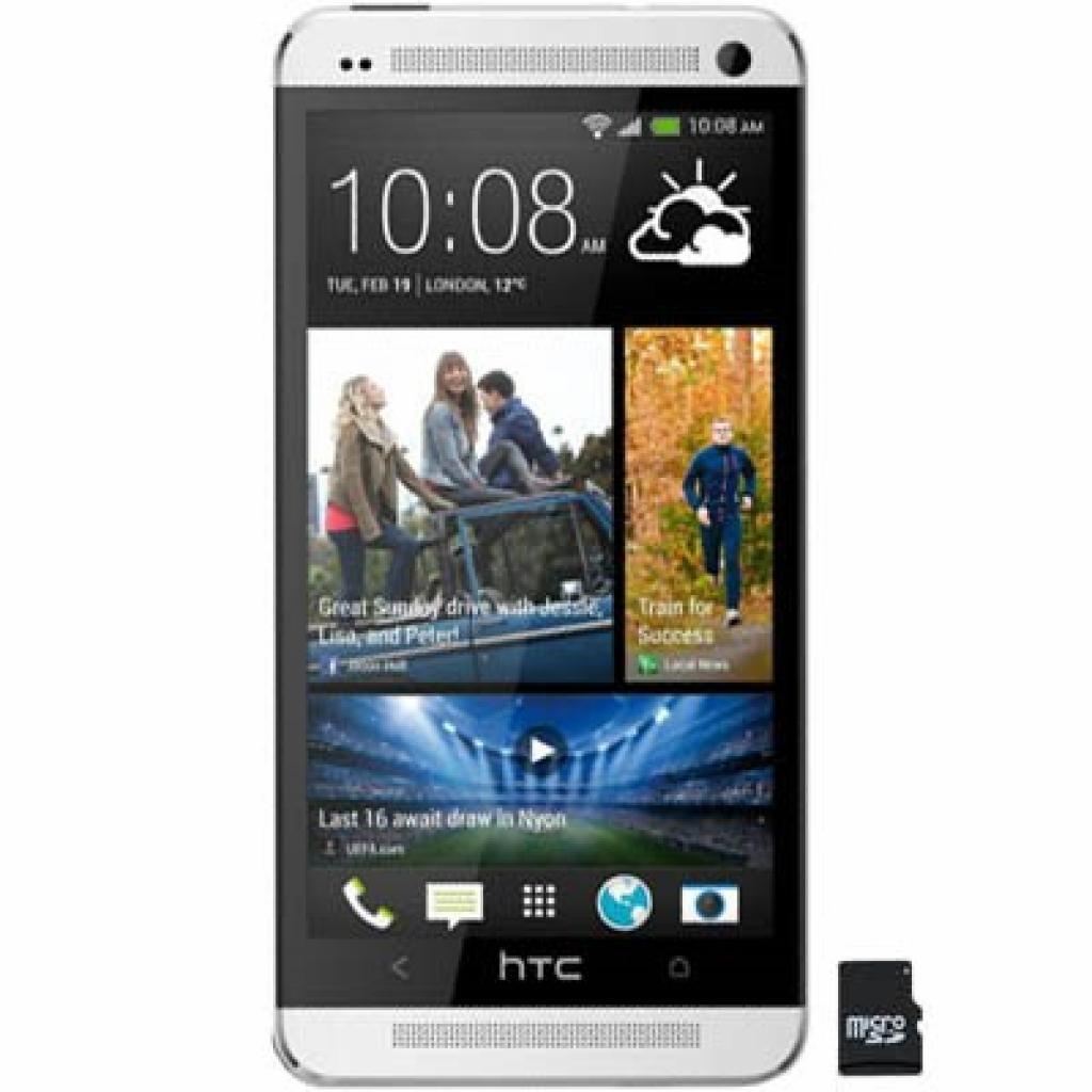 Мобильный телефон HTC E802 One Dual Metallic (4718487637249)