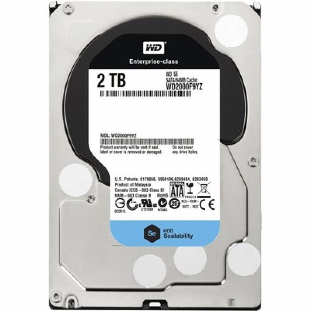 """Жесткий диск 3.5"""" 2TB Western Digital (WD2000F9YZ)"""